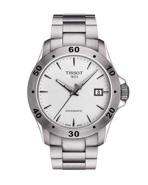 Tissot - Metallic V8 Men's Stainless Steel Mechanical Automatic Watch for Men - Lyst
