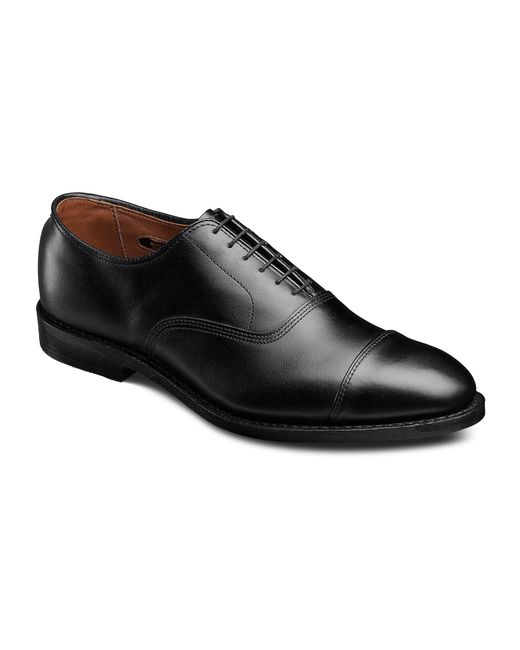 Allen Edmonds | Black Park Avenue Cap-toe Leather Dress Oxfords for Men | Lyst