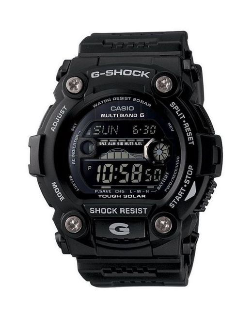 G-Shock | Black G-rescue Solar Atomic Digital Watch for Men | Lyst