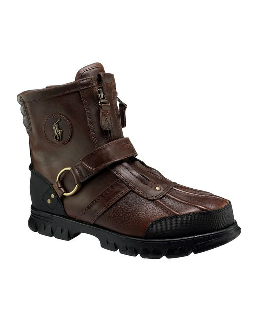 Polo Ralph Lauren | Brown Conquest Iii Men ́s Rugged Boots for Men | Lyst