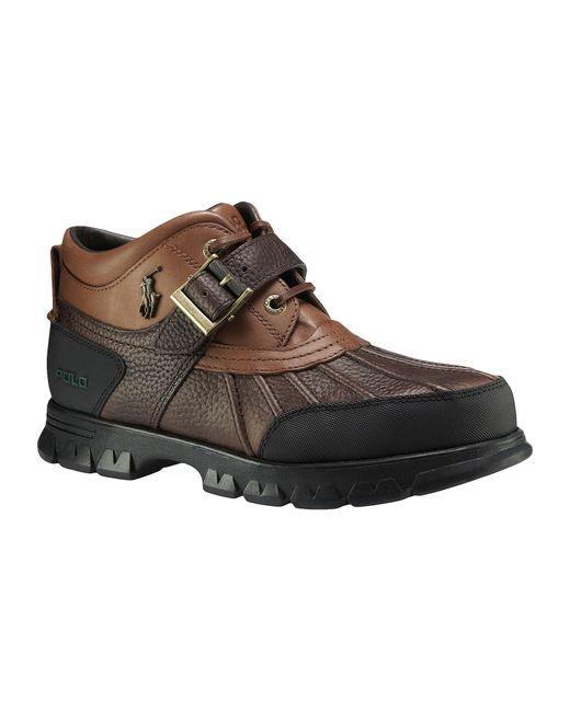 Polo Ralph Lauren Dover Iii Men ́s Rugged Boots In Brown