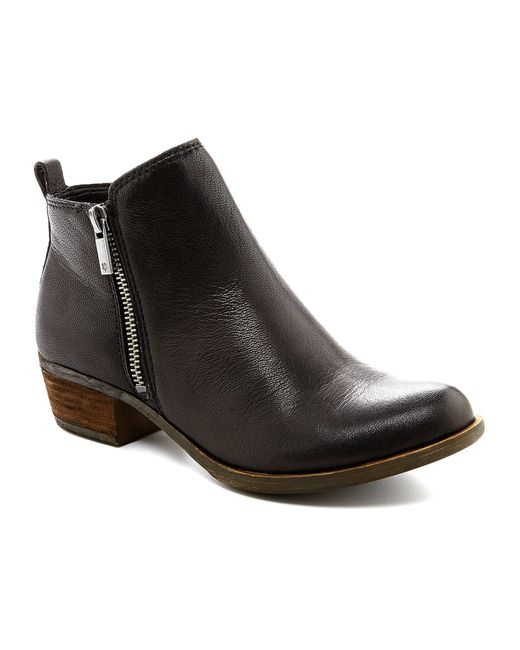 Lucky Brand | Black Basel Booties | Lyst