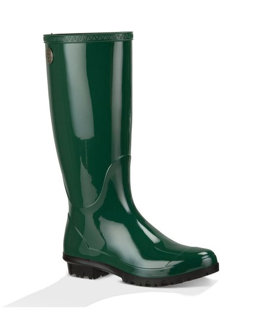 UGG | Green Shaye Rubber Rainboots | Lyst