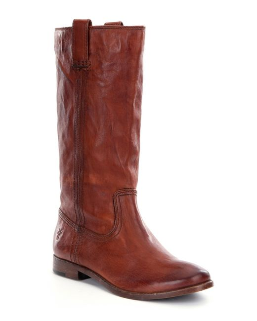 Frye | Brown Anna Riding Boots | Lyst