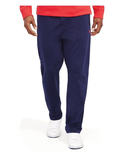 Polo Ralph Lauren | Blue Men's Big And Tall Interlock Track Pant for Men | Lyst