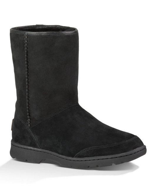 UGG | Black ® Michaela Waterproof Boots | Lyst