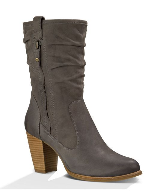 Ugg 174 Dayton Boots In Gray Lyst