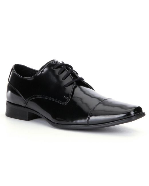 Calvin Klein | Black Bram Men´s Patent Dress Shoes for Men | Lyst