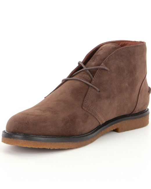Polo ralph lauren Marlow Men ́s Chukka Boots in Brown for Men | Lyst