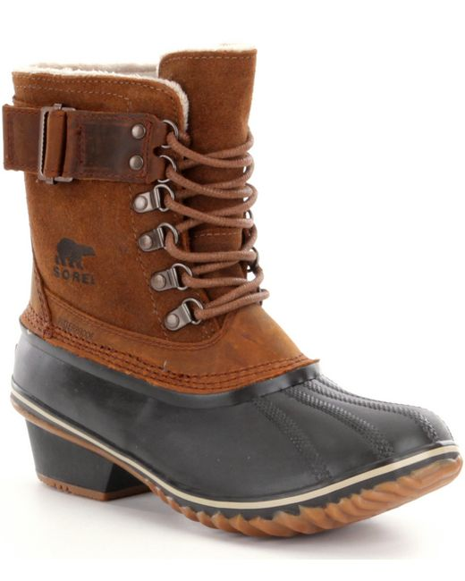 Sorel | Brown ® Women´s Winter Fancy Lace Ii Waterproof Boots | Lyst