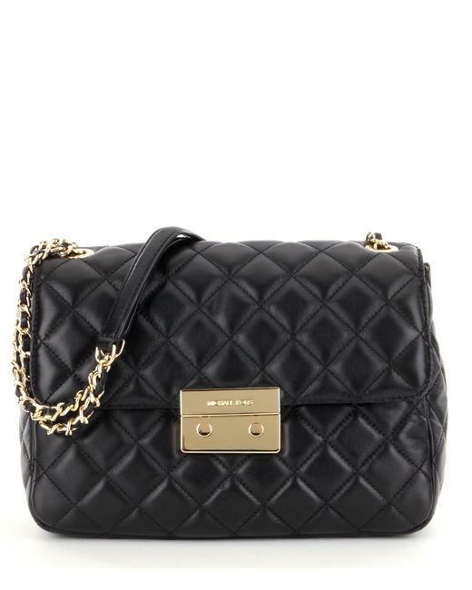 Michael Michael Kors Sloan Xl Chain Quilted Leather