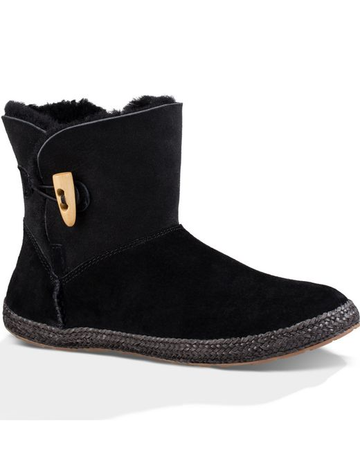 UGG | Black Ugg 'garnet' Toggle Boot | Lyst