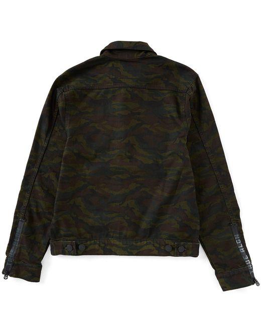 23028fd52 ... True Religion - Black Dylan Camo Jacket for Men - Lyst