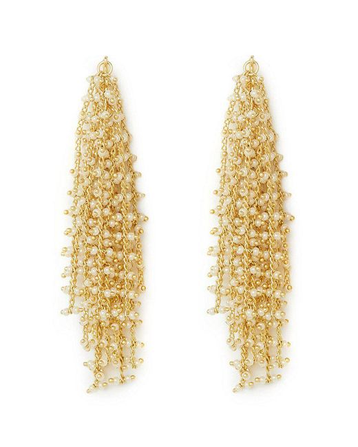 Vince Camuto - Metallic Waterfall Statement Earrings - Lyst