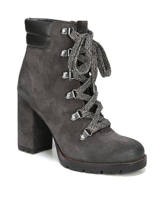 Sam Edelman   Black Carolena Leather Hiker Booties   Lyst