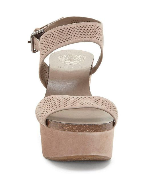 Vessinta Suede Platform Wedge Sandals daIZmIE