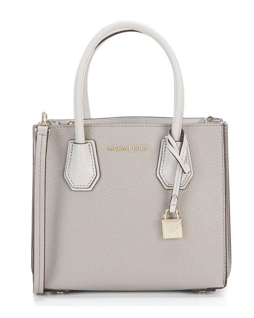 MICHAEL Michael Kors - Gray Mercer Medium Cross-body Bag - Lyst