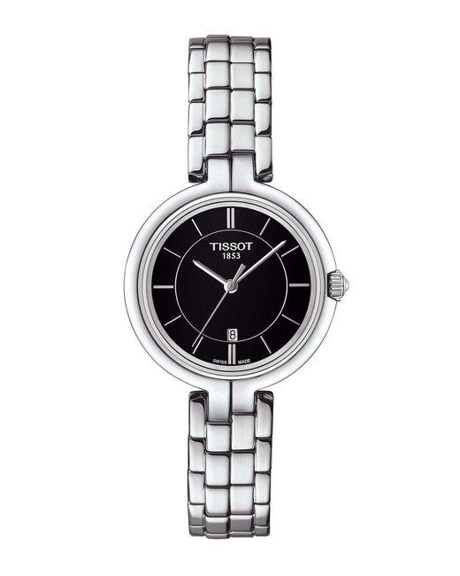 Tissot - Metallic Flamingo Stainless Steel Bracelet Watch - Lyst