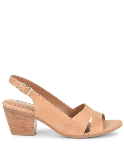 bbc7234e3f5 ... Comfortiva - Multicolor Alonna Leather Block Heel Sandals - Lyst ...