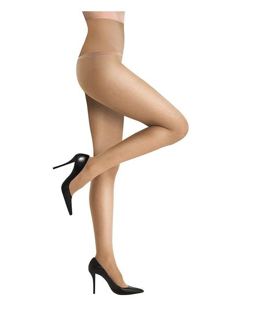 Commando - Brown Shine Sheer Dig Free Pantyhose - Lyst