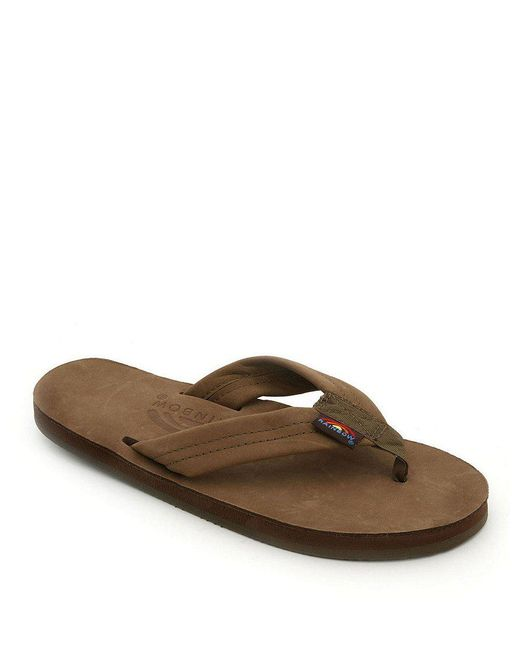 Rainbow Sandals - Brown Premier Flip-flops - Lyst