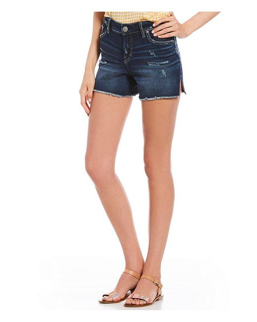 Silver Jeans Co. - Blue Elyse Shorts - Lyst