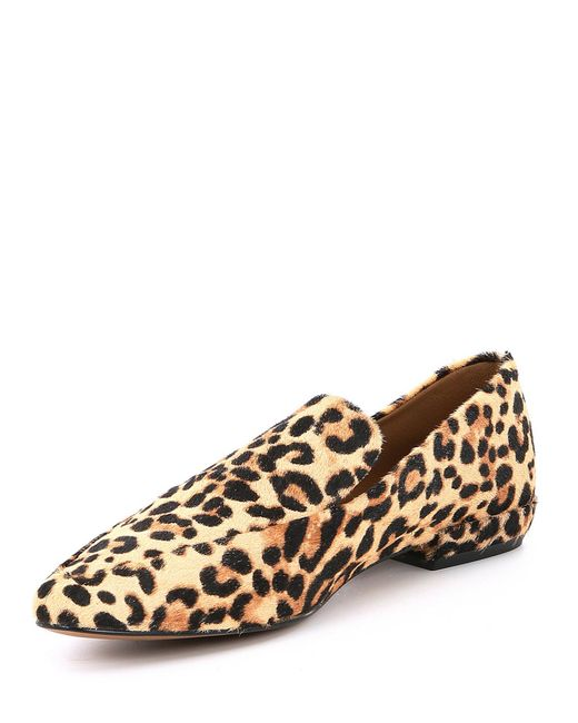 9f8f00082e4 Steve Madden. Women s Brown Steven By Haylie-l Leopard Print Calf Hair  Loafers