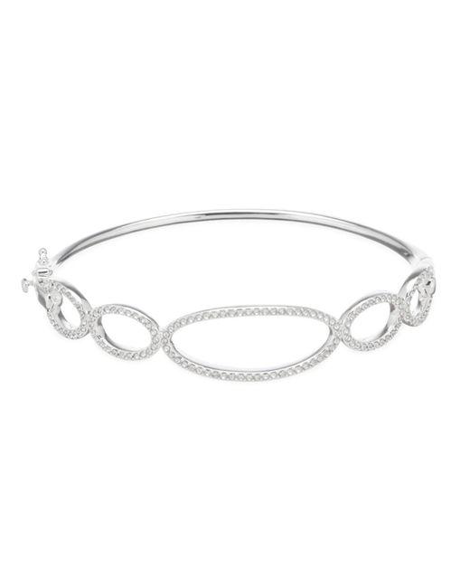 Lauren by Ralph Lauren - Metallic Pave Link Bangle Bracelet - Lyst