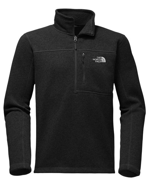 The North Face - Gray Gordon Lyons -zip Pullover for Men - Lyst