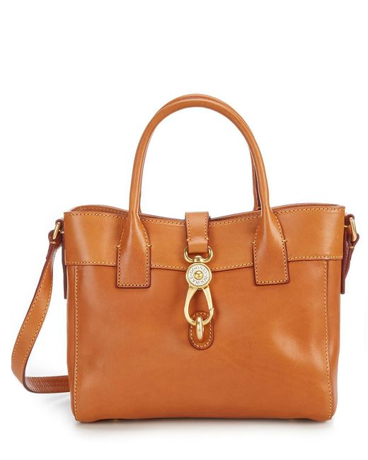 Dooney & Bourke - Natural Florentine Collection Amelie Tote - Lyst