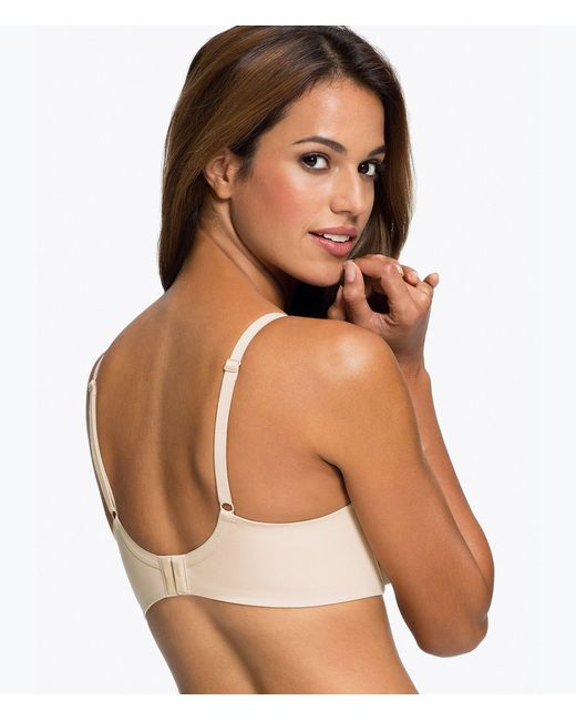 af2e1b4cd ... Wacoal - White Amazing Assets Back Smoothing T-shirt Bra - Lyst