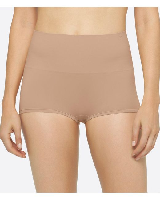 Yummie - Natural Ultralight Seamless Girl Short Panty - Lyst