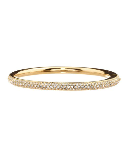 Nadri - Metallic Pavé Bangle - Lyst