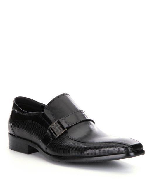 Kenneth Cole Reaction - Black Big News Loafers for Men - Lyst