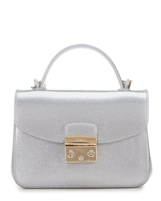 Furla - Metallic Candy Meringa Mini Cross-body Bag - Lyst