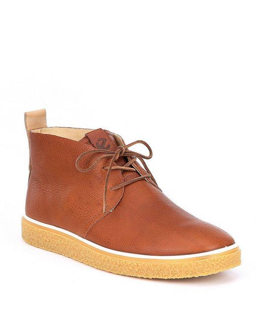 Ecco - Brown Men's Crepetray Chukka Boots for Men - Lyst