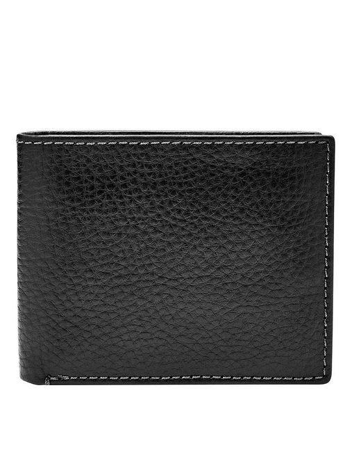 Fossil - Black Richard Rfid-blocking Bifold Flip Id Wallet for Men - Lyst