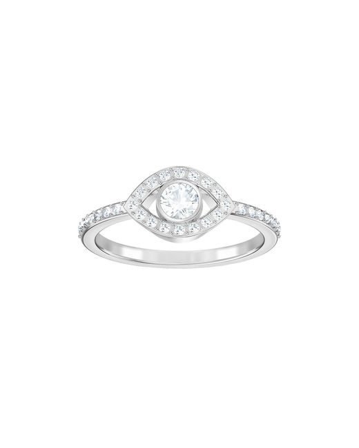 Swarovski - Metallic Luckily Statement Ring - Lyst