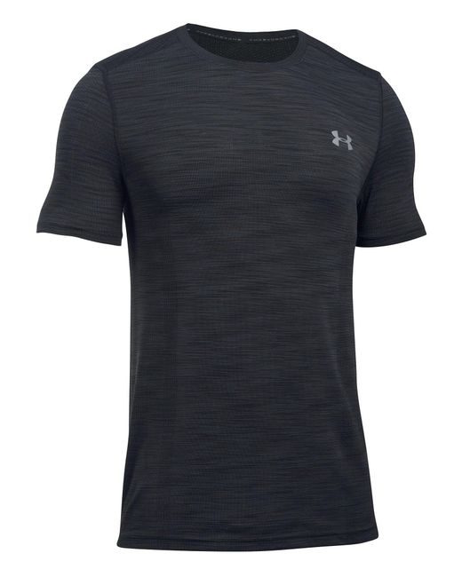 Under Armour - Black Threadborne Seamless T-shirt for Men - Lyst