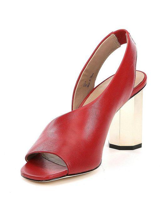 Ella Slingback Block Heel Dress Sandals Y2fp6as5v