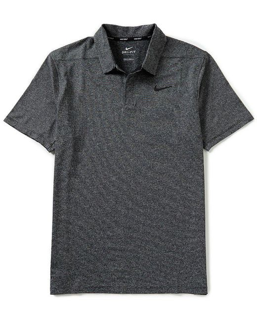 Nike - Black Short-sleeve Dry Lightweight Golf Polo for Men - Lyst