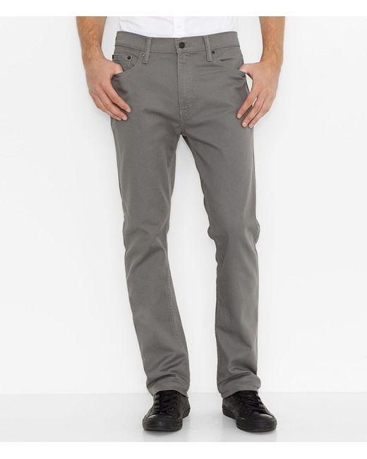 Levi's - Gray ® Men's 513tm Slim-straight Jeans for Men - Lyst