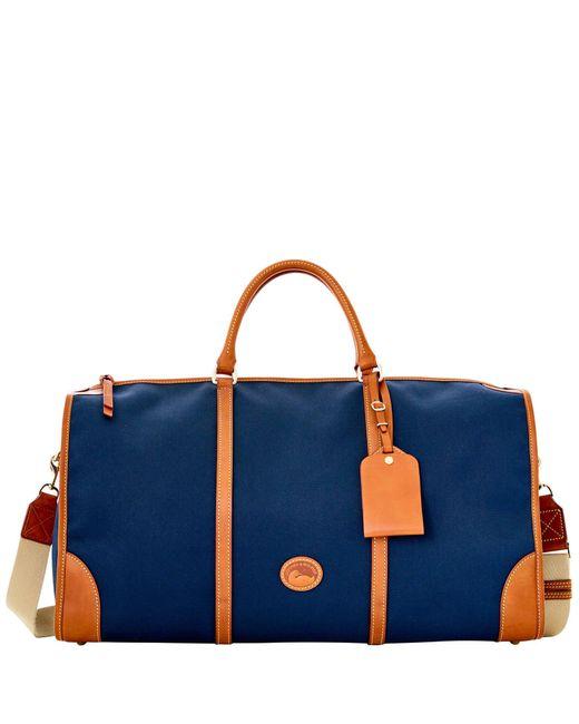 Dooney & Bourke - Blue Getaway Cabriolet Gym Bag - Lyst