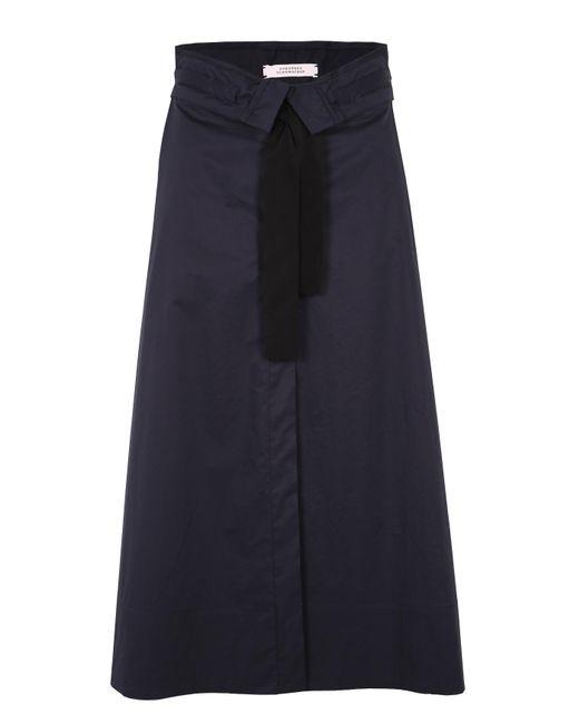 Dorothee Schumacher | Blue Tie It Up Skirt | Lyst