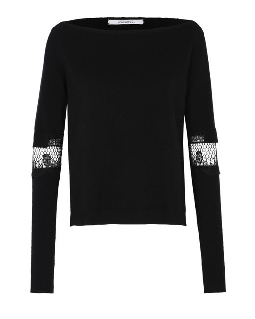 Dorothee Schumacher | Black Twist The Cable Pullover 1/1 | Lyst