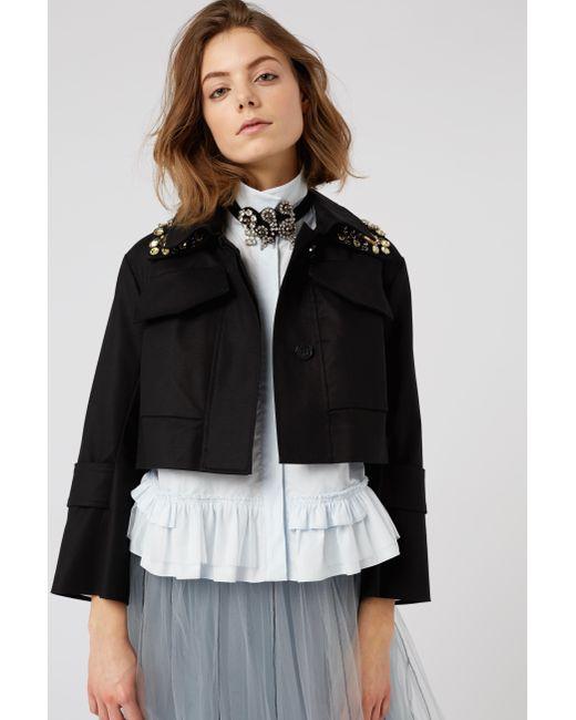 Dorothee Schumacher - Black Bold Silhouette Jacket - Lyst