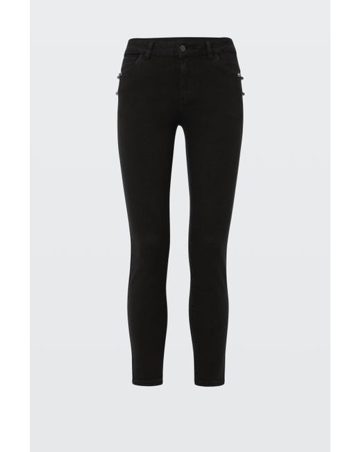 Dorothee Schumacher - Black Denim Deluxe Pants - Lyst