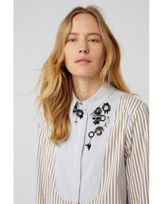 Dorothee Schumacher - Multicolor Sparks On Stripes Blouse 1/1 - Lyst
