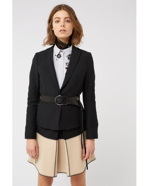 Dorothee Schumacher - Black Look Sharp Jacket 1/1 - Lyst