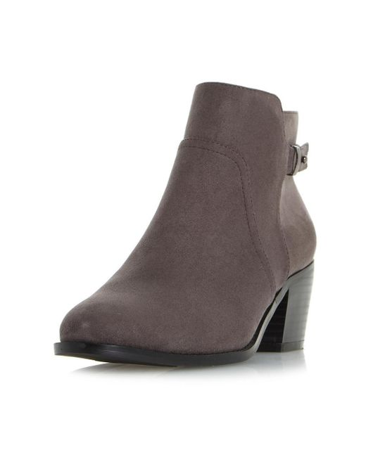 Dorothy Perkins - Gray Head Over Heels By Dune Grey 'pascalle' Ankle Boots - Lyst